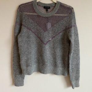 Rag & Bone Metallic Net Sweater, NWT